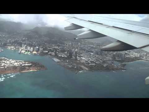 Hawaiian Airlines HA2 Honolulu International Departure Takeoff 2:20PM