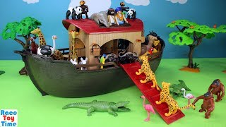 Playmobil Animals Ark Playset Build and Play - Fun Toys For Kids