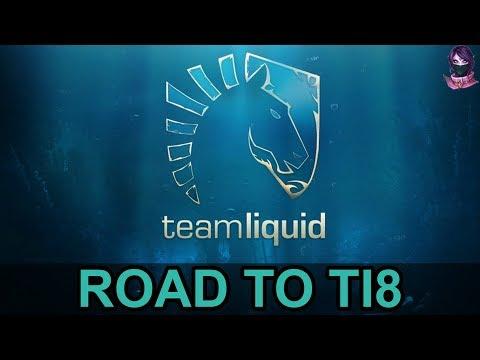 TEAM LIQUID ROAD TO TI8 (The International 8) Highlights Dota 2 by Time 2 Dota #dota2 #ti8 #liquid