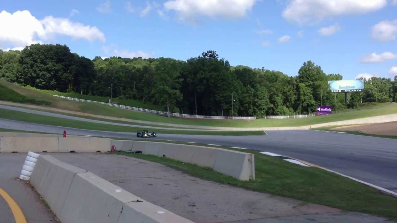 Road Atlanta Turn 12 at Road Atlanta Turn 12