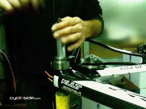 Montaggio bussola movimento centrale BB30/tradizionale
