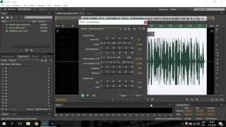 Adobe Audition cs6 Rap vocal Mix & Mastering making ( Proffessional )