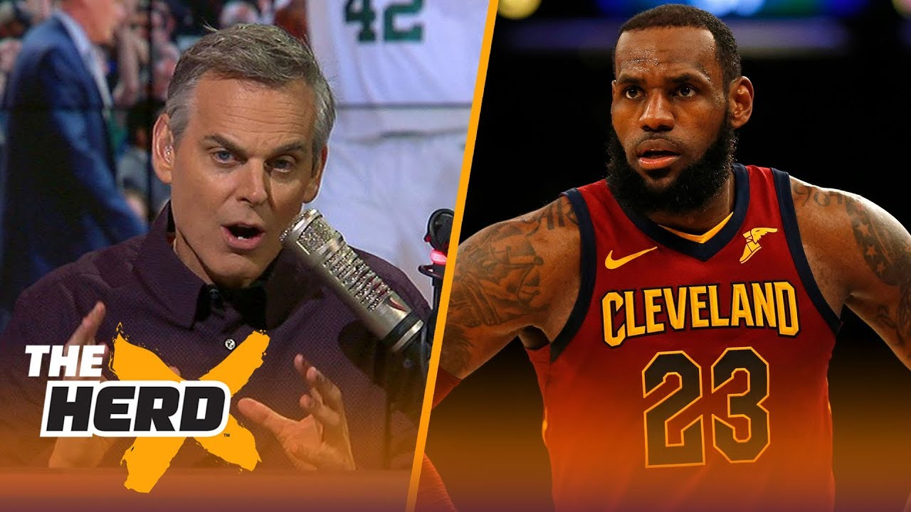 Colin Cowherd talks LeBron's Cavs vs Celtics, 76ers and Ben Simmons | NBA | THE HERD
