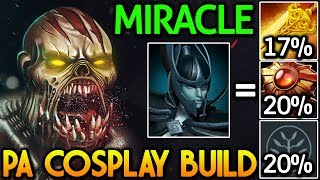 Miracle- [Lifestealer] LOL! PA Cosplay Build 7.14 Dota 2