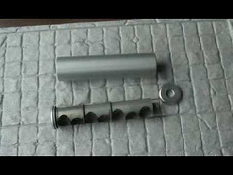 AIR GUN SUPPRESSOR RIFLE SILENCER BASIC TEST 8. THE SAK.