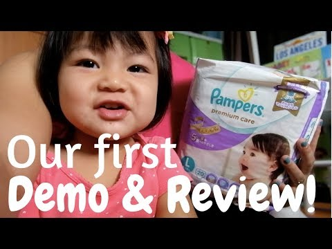 Pampers Premium Care Demo & Review PH | DyosaTheMomma