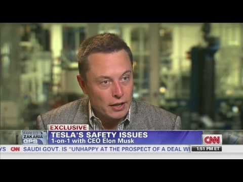 Elon Musk interviewed by Fareed Zakaria CNN