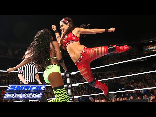 Naomi vs. Brie Bella: SmackDown, December 5, 2014