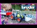 Bruder Tractors For Kids Harvesting Blueberries