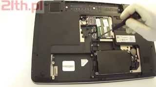 How to replace or remove keyboard in HP Pavilion dv7 laptops series 4000 4100 4200 4300