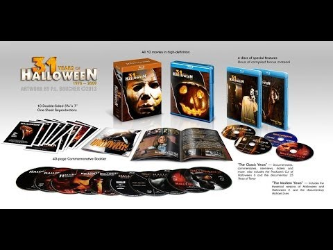 Halloween The Complete Collection Limited Deluxe EditionBlu ray
