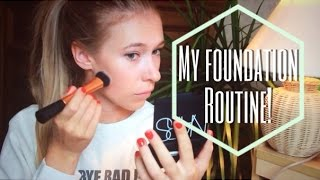 My Foundation routine! Hillamaria89