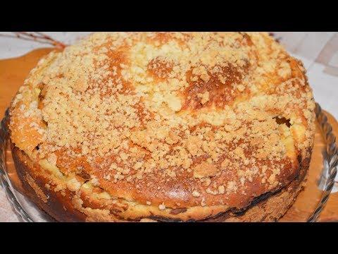 Пирог с творогом рецепт с простой