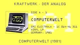 Watch Kraftwerk Computerwelt video
