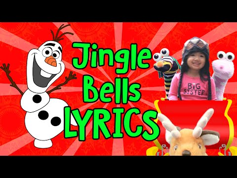 Jingle Bells Lyrics with Olaf from FROZEN