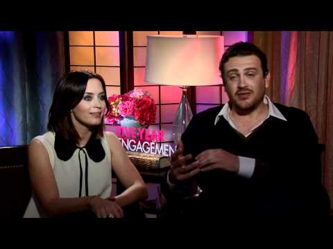 Emily Blunt and Jason Segel on 'Five-Year Engagement'