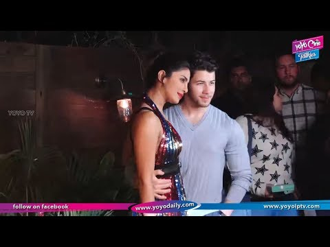 Nick Jonas Cant STOP Starring At Wife Priyanka Chopra At Bumble BFF Event | YOYO Cine Talkies