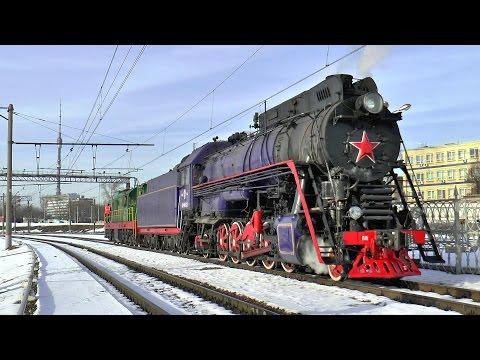 Steam Locomotive Паровоз ЛВ-0522 19.03.16 + Бонус