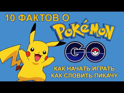 [ТОП] 10 фактов о Pokemon GO (Покемон Го): как начать играть и словить Пикачу