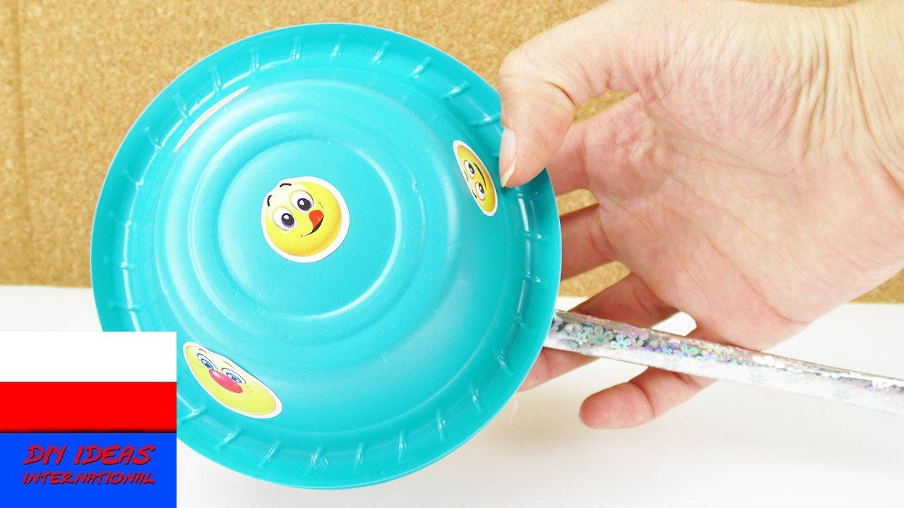 Instrumenty muzyczne dla dzieci   grzechotka z plastikowych misek   do zabawy i nauki