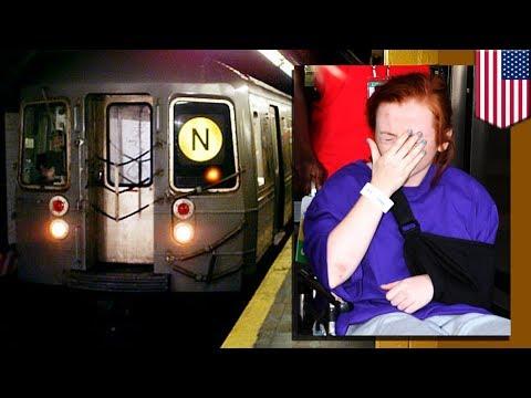 Mujer ebria se salva de morir luego de que tres trenes del metro de Nueva York le pasaron por encima