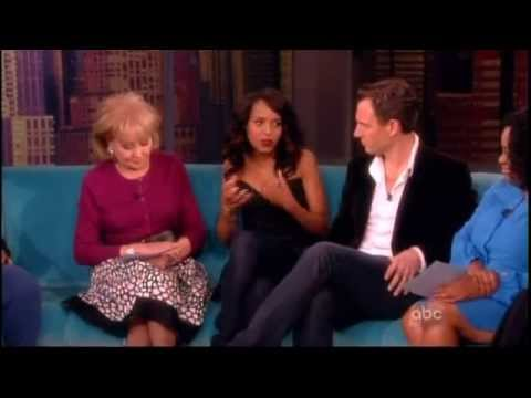 Scandal cast on The View 5/14/13 part 1