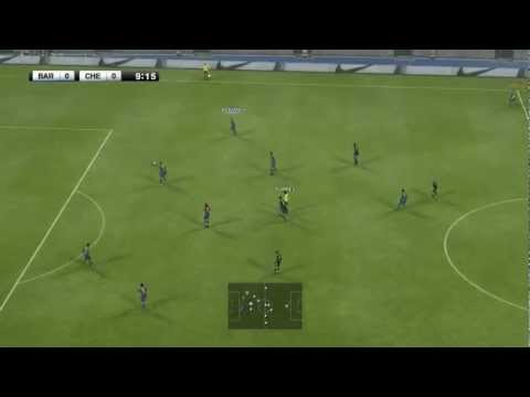 Pes 2012 • Gameplay Barcelona Vs Chelsea video