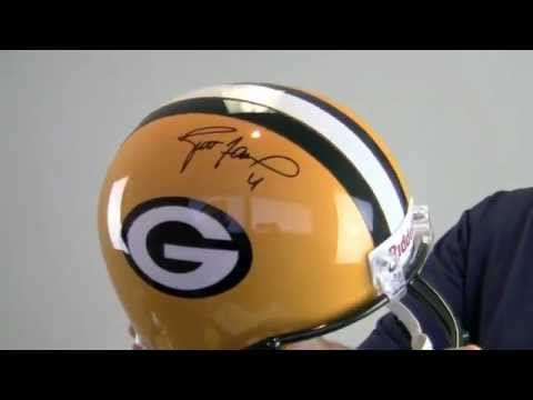 Brett Favre Autographed Green Bay Packers Helmet - Replica