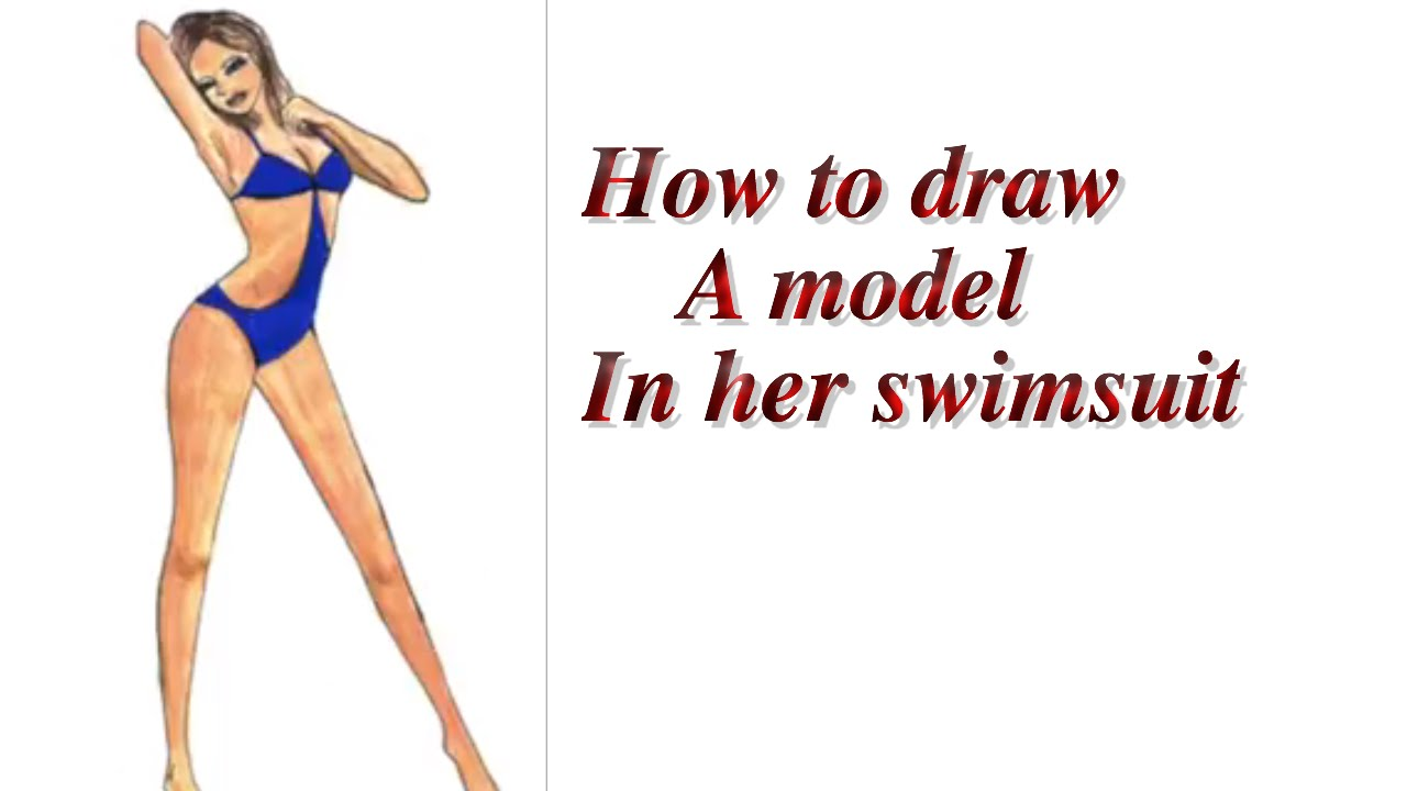 Model Drawing Drawing a Model in Her