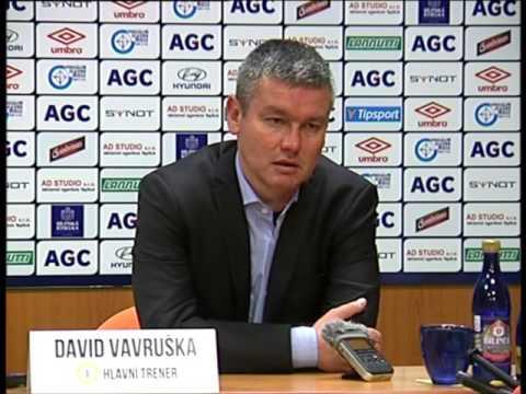 Tisková konference domácího trenéra po zápase se Slavií (1.11.2015)