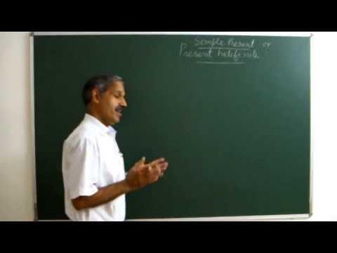 Learn English अंग्रेजी सीखें: Present Indefinite Tense (2nd Version)