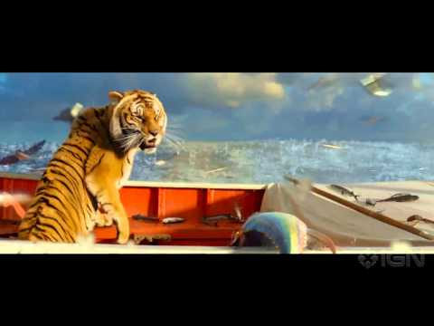 Life Of Pi - flying Fish Clip video