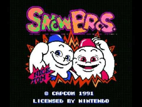 Snow Bros Sprite Snow Bros Nes Music Stage