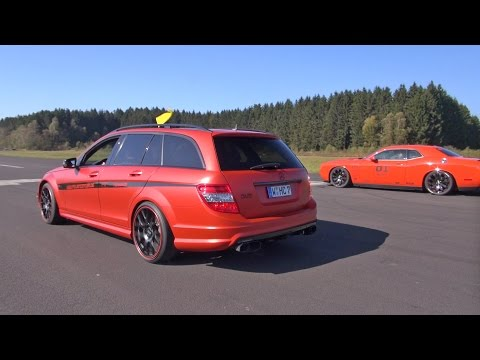 Mercedes-Benz C63 AMG Estate w/ Cartecjahn Exhaust!