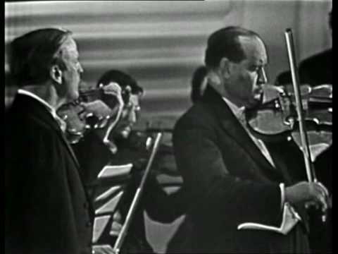 Menuhin & Oistrakh - Bach double violin concerto in D minor - BWV 1043 - Largo ma non tanto