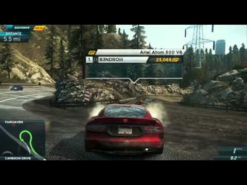Need For Speed: Most Wanted - Gameplay Walkthrough Part 3 (NFS001)