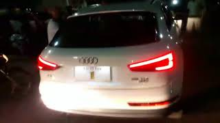 Audi car owner fight with police at Chennai today live