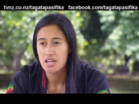 Maria Tutaia Sports Profile Netball New Zealand Tagata Pasifika TVNZ 18 Feb 2010