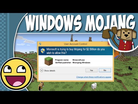 Minecraft LOLs - If Microsoft Bought Mojang ! ! !