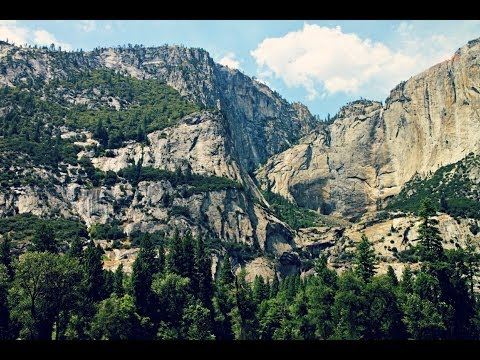 Tour of Yosemite National Park, California, USA