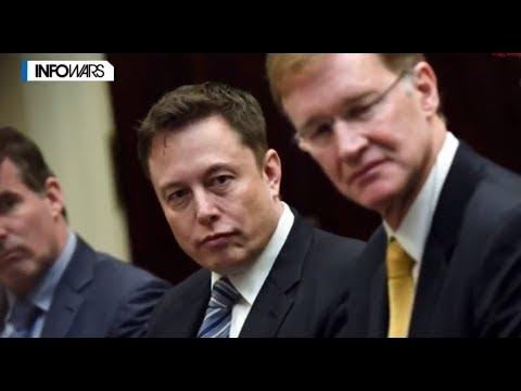 Алекс Джонс и Илон Маск против мирового правительства