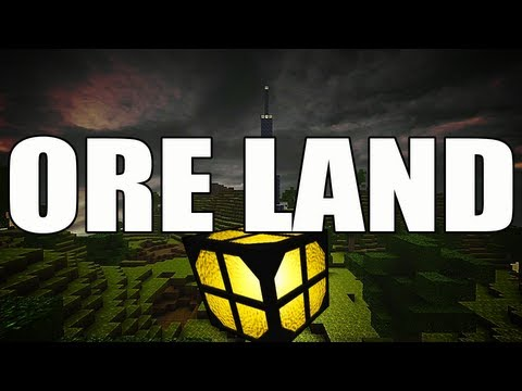 CastleMiner Z - ORE LAND - Unlimited Ore - Zombie Indie Game - SICK