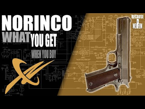 Prepping a new out-of-the-box 1911 (Norinco).