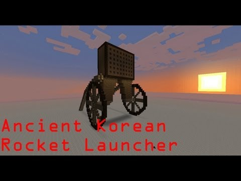 Minecraft - Ancient Korean Rocket Launcher | Hwacha