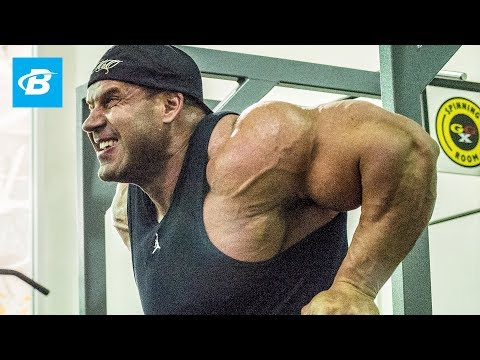 Jay Cutler Workout: How Jay Cutler Trains Chest And Calves - Bodybuilding video