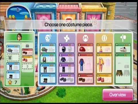 Mii Fashion Plaza Wii Party U quot Bigger Targets quot Wii Party U