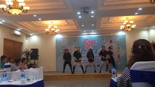 [180621] Baby don't stop + Black Dress + Latata - The A-code dance cover at Quiz On Korea