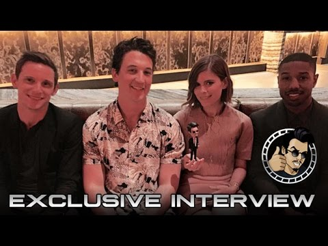 Cinemacon 2015: Miles Teller, Kate Mara, Jamie Bell, and Michael B. Jordan Interview (HD)