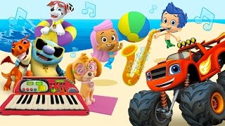 Musical Instruments for Kids – The Little Orchestra | MusicMakers with Nick Jr - from Baby Teacher