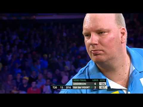 PDC Players Championship Finals 2014 - Semi Final - Anderson vs van
